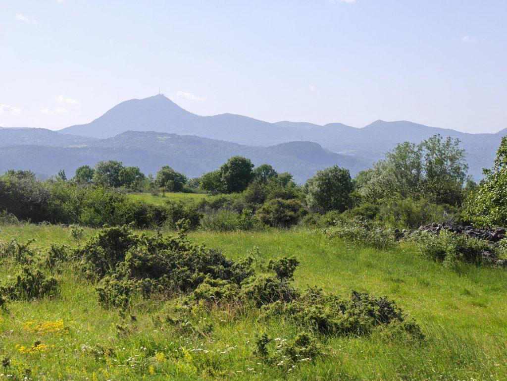 Blick vom Plateau de Gergovie