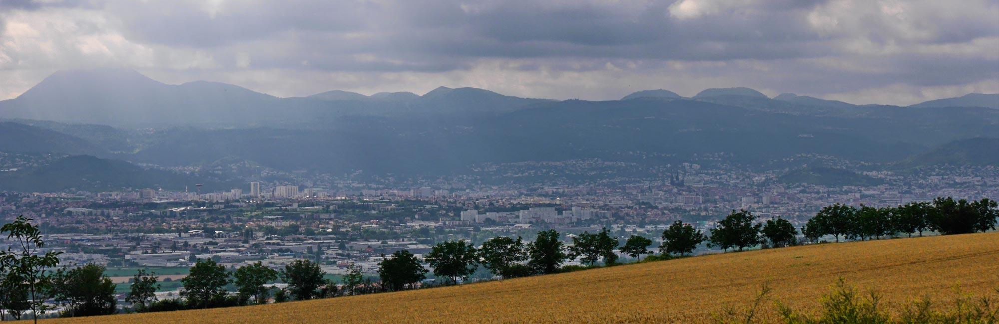 Wanderung Cournon de Auvergne